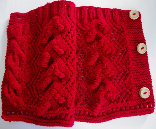 Read more about the article Knit cowl pattern on straight needles