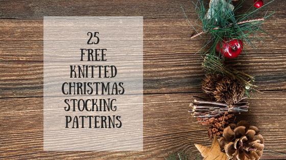 Knitting Christmas Stocking Pattern Free.25 Free Knitting Patterns For Christmas Stockings Knitting Blog