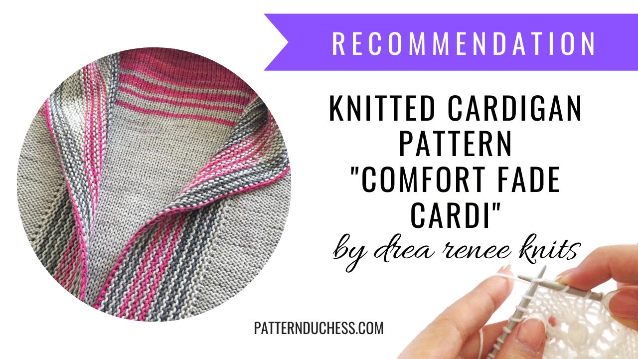 "Knitted Cardigan ""Comfort Fade Cardi"""