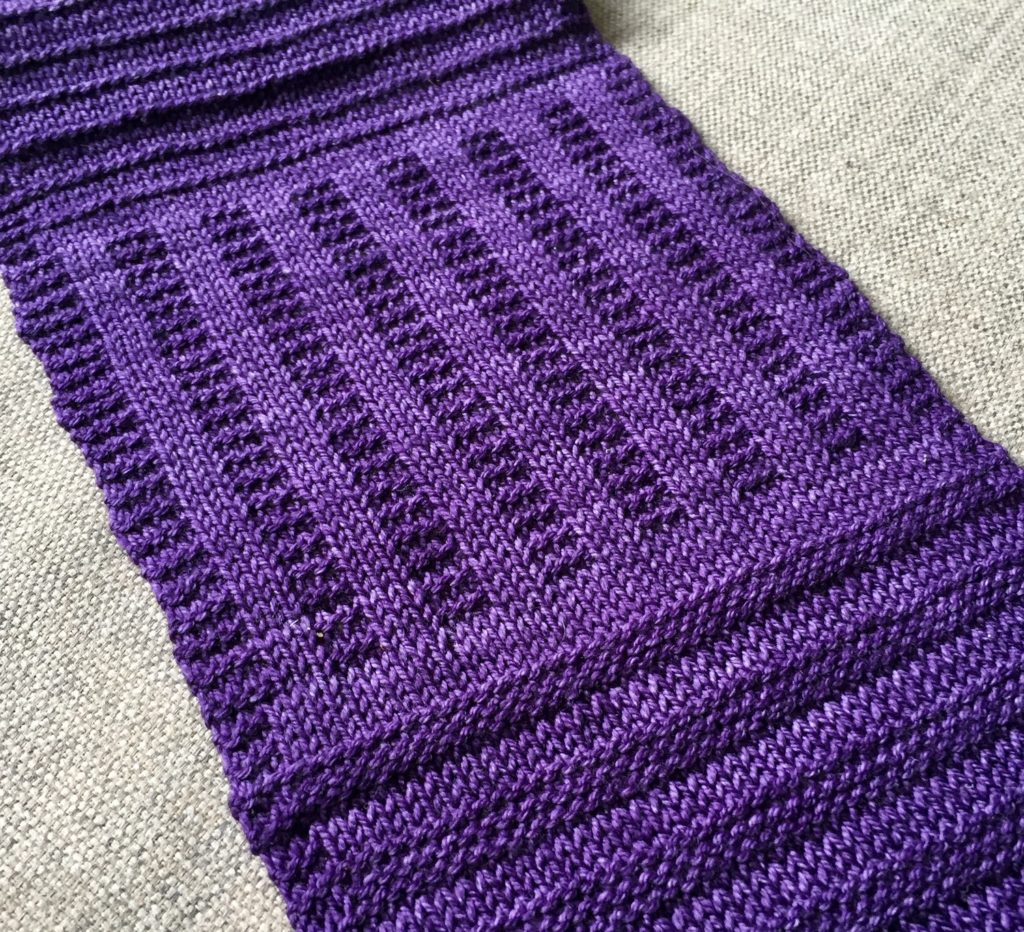 easy knit scarf for beginners