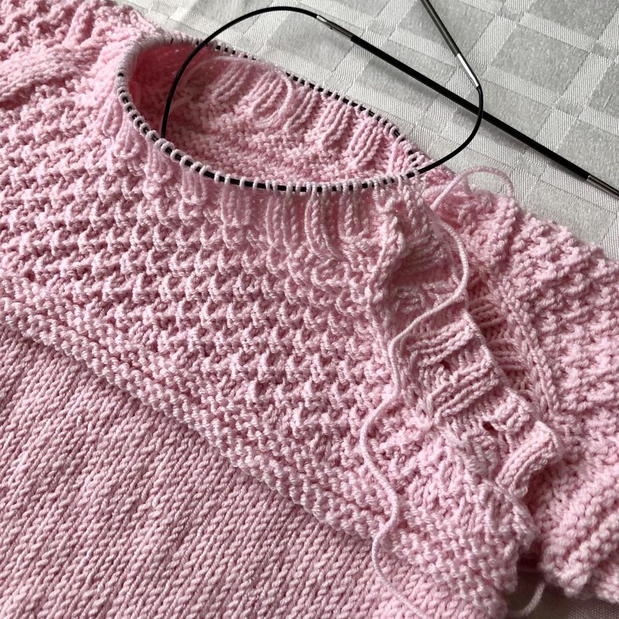 tutorial de como tricotar suéter bebê com vídeo